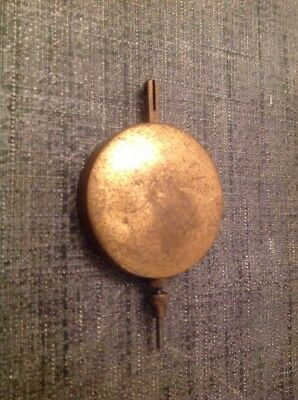 Antique Pendulum 54g 40mm Diameter 70mm Long For Spare Parts