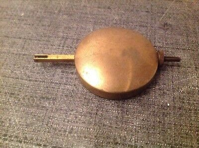 Antique Pendulum 87g 45mm Diameter 85mm Long For Spare Parts