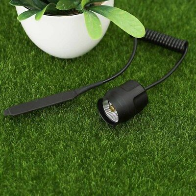 Metal Remote Pressure Switch for UltraFire C8, C2 LED Torch LED Flashlight Hot