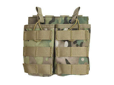 "BEGADI Basic MOLLE Open Mag Pouch /  Magazintasche ""G36 - double"" - multiterrain"