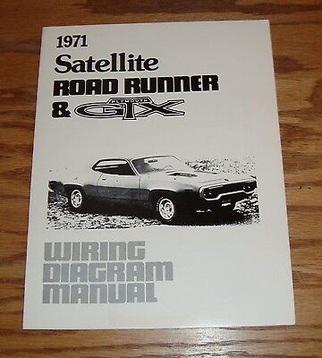 Admirable 1971 Dodge Coronet Charger Wiring Diagram Manual 71 9 00 Picclick Wiring Digital Resources Antuskbiperorg