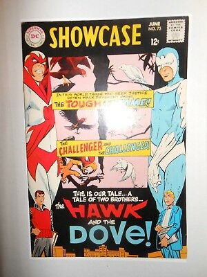 Showcase #75 In Vf Or Better First Appearance Of Hawk And Dove 6/68