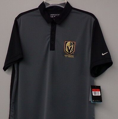 detailed look fa991 57ea7 NIKE GOLF VEGAS Golden Knights NHL Embroidered Mens Polo 746101 XS-4XL New  WT's