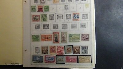 Samoa Stamp collection on Minkus album page to '91 w/ 250