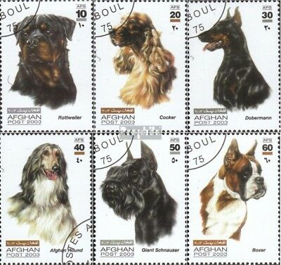 Afghanistan 1981-1986 (complete issue) used 2003 Breeds