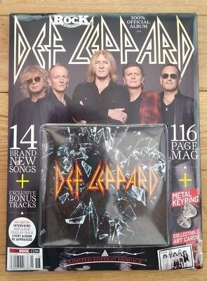 DEF LEPPARD - Classic Rock Edition 2015 Classic Rock Fanpack with CD