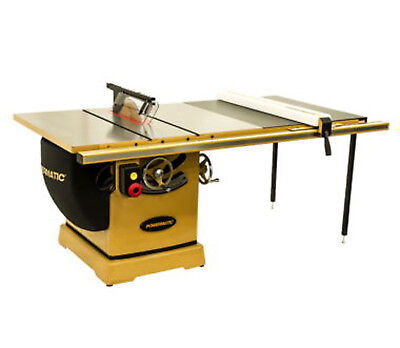 "Powermatic 3000B table saw 7.5HP 3PH 230/460v 50"" RIP with Accu-Fence PM375350K"