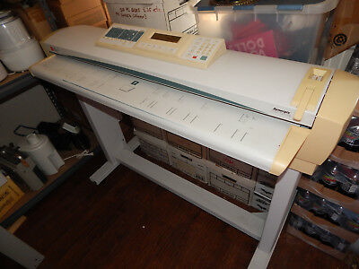 Xerox YWC-1 XES Large Format Scanner - Architectural Engineering Wide Drawings