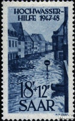 Saar 258 unmounted mint / never hinged 1948 Flood relief