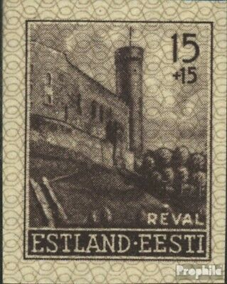 Estonia (German.cast.2.world.) 4U unmounted mint / never hinged 1941 buildings