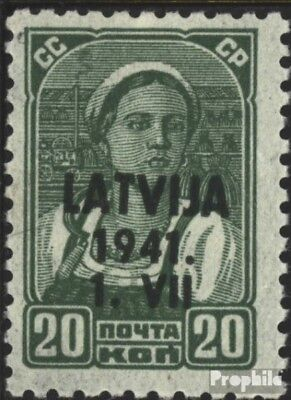 Latvia (German.cast.2.world.) 4 unmounted mint / never hinged 1941 Latvija