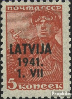 Latvia (German.cast.2.world.) 1 unmounted mint / never hinged 1941 Latvija