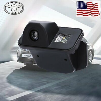 Rear View Reverse Backup Parking Camera CCD for Toyota Corolla 2008 09 10 11