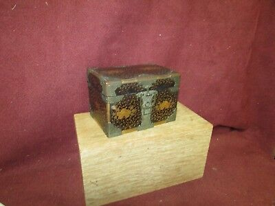 Fine Antique Miniature Japanese Lacquer Chest