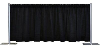 3 Ft High X 4 Ft Wide Banjo Drape Panel Stage Show Booth Drapery Curtain