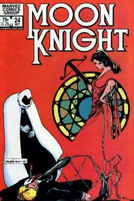 Moon Knight (1980 series) #24 in Fine condition. FREE bag/board