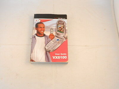 Lg vx6100 | owner's manual (english).