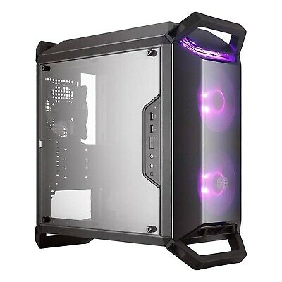 Cooler Master MasterBox Q300P Mini Tower mATX Case w Acrylic Side Panel RGB Fan