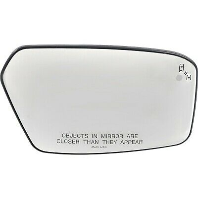 9e5z17k707c New Mirror Glass Passenger Right Side Heated Rh Hand