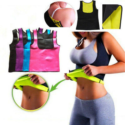Hot Sweat Sauna Body Shaper Women Slimming Vest Thermo Neoprene Waist Trainer