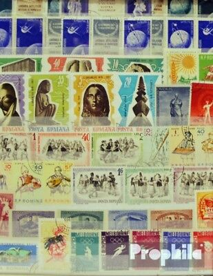 Romania 500 different  special stamps in complete Expenditure