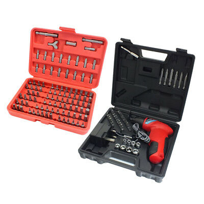 Voche® 3.6V Cordless Rechargeable Screwdriver + 146 Pc Accessory Set + Charger
