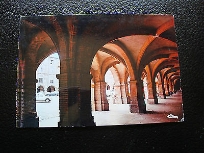 FRANCE - carte postale - montauban (arcades place nationale) 1977 (cy27) french