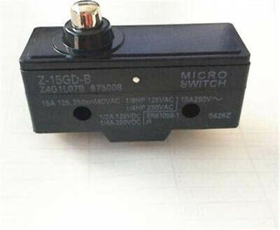 7-33 Microswitch OMRON à palette courte Type KW7 microswitch 2,5 ou 10