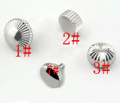 316L Stainless Steel hardened Watch Crown fit 6497 6498 ST36 Watch Movement