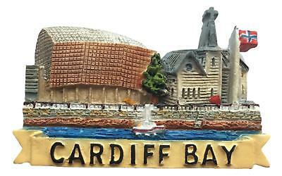Welsh Souvenir Cardiff Bay Fridge Magnet