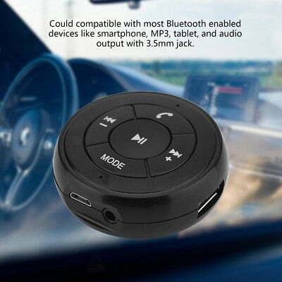 Wireless Bluetooth 3.5mm AUX Audio Stereo Music Car Receiver Adapter Handsfree