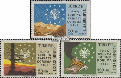 Turkey 2158-2160 (complete issue) unmounted mint / never hinged 1970 Conservatio