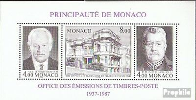 Monaco block37a (complete issue) unmounted mint / never hinged 1987 Office for S