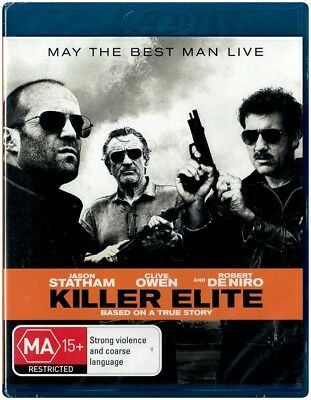 """KILLER ELITE: Based On A True Story"" Blu-ray - Region [B] NEW"