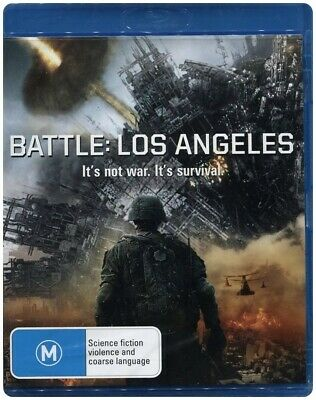 "Clearance!! ""BATTLE LOS ANGELES"" Blu-ray - Region Free [B][A][C] BRAND NEW"