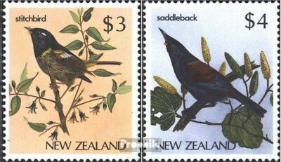 New Zealand 960-961 (complete issue) unmounted mint / never hinged 1986 Birds