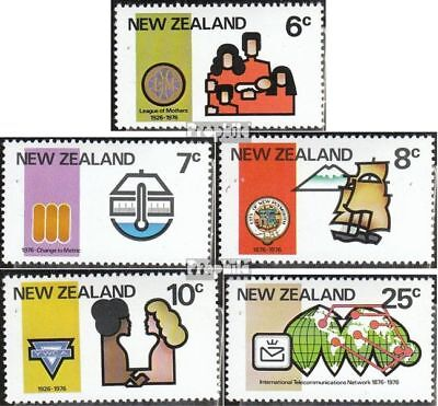 New Zealand 676-680 (complete issue) unmounted mint / never hinged 1976 Annivers