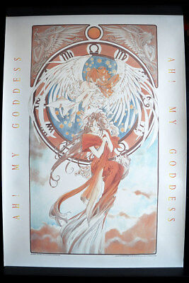 "OH! MY GODDESS ""HOLY BELL"" VINTAGE 1000 EDITIONS ANIME POSTER JAPAN 98x68cm 4715"