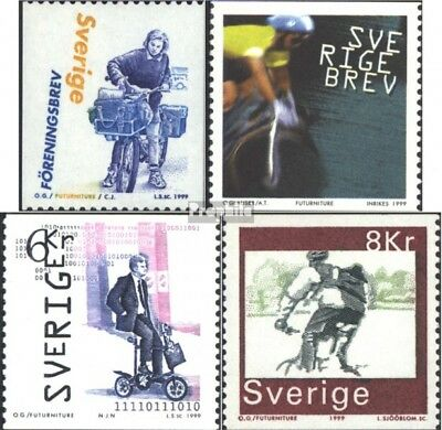 Sweden 2118-2121 (complete issue) unmounted mint / never hinged 1999 Bicycles