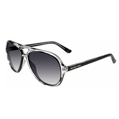 56789cb130 Michael Kors Caicos Black Acetate Womens Aviator MK Sunglasses Shades  M2811S 001