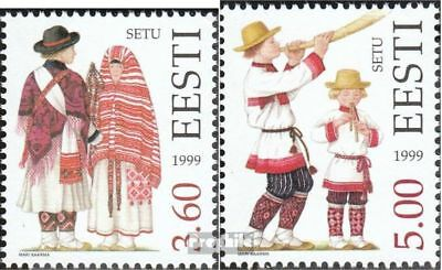Estonia 354-355 (complete issue) unmounted mint / never hinged 1999 Costumes