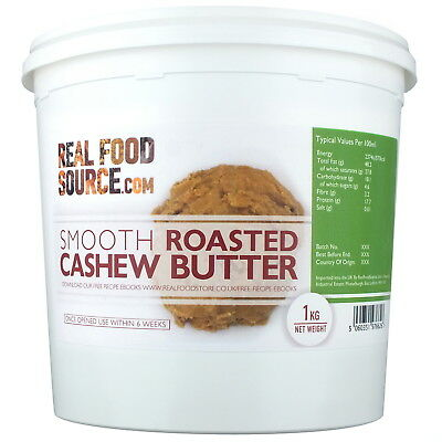 RealFoodSource - Roasted Cashew Butter 1kg