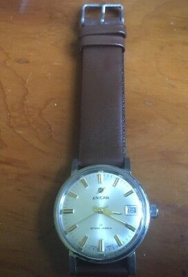 Gorgeous, Vintage Enicar Star 17-jewels, Day/date, Hand-winding Watch. GWO