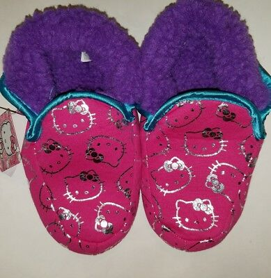 e1c562f09 WOMENS SANRIO HELLO Kitty Pink House Slippers Size 5/6 - $18.99 ...