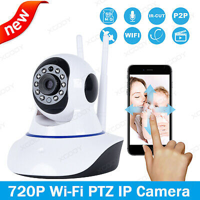 Sricam 720P HD Wireless Wifi CCTV IP Camera System Dog/Pet Monitor Pan Tilt P2P