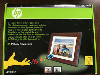 Hp 8 Digital Photo Frame 1811 Picclick Uk
