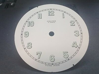 Clock Dial Luminous Numbers. 68 mm Dia, Hole 4.8 mm Swiss Made (WD145).