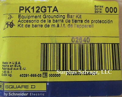 Square D Equipment Grounding Bar Kit Catalog Pk12gta Brand New In Package