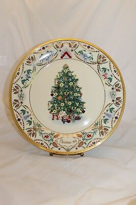 Lenox Limited Edition Christmas Trees Around the World Plate Sweden 2000