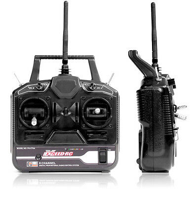 Fly Sky CT6B OEM Version Exceed RC 6-Ch 2.4Ghz Transmitter Receiver Helicopter